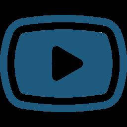 動画再生ボタンのアイコン 3